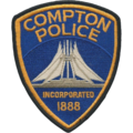 Patch of the Compton, California Police Department.png