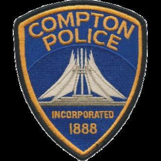 Compton Police Department (California) - Compton Police patch