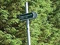 Pathmarker in Loanhead Plantation - geograph.org.uk - 885255.jpg