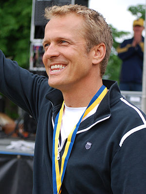 Patrick Fabian - Patrick Fabian on the Bellin Run 2011