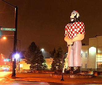 Kenton, Portland, Oregon - Paul Bunyan, a Kenton landmark