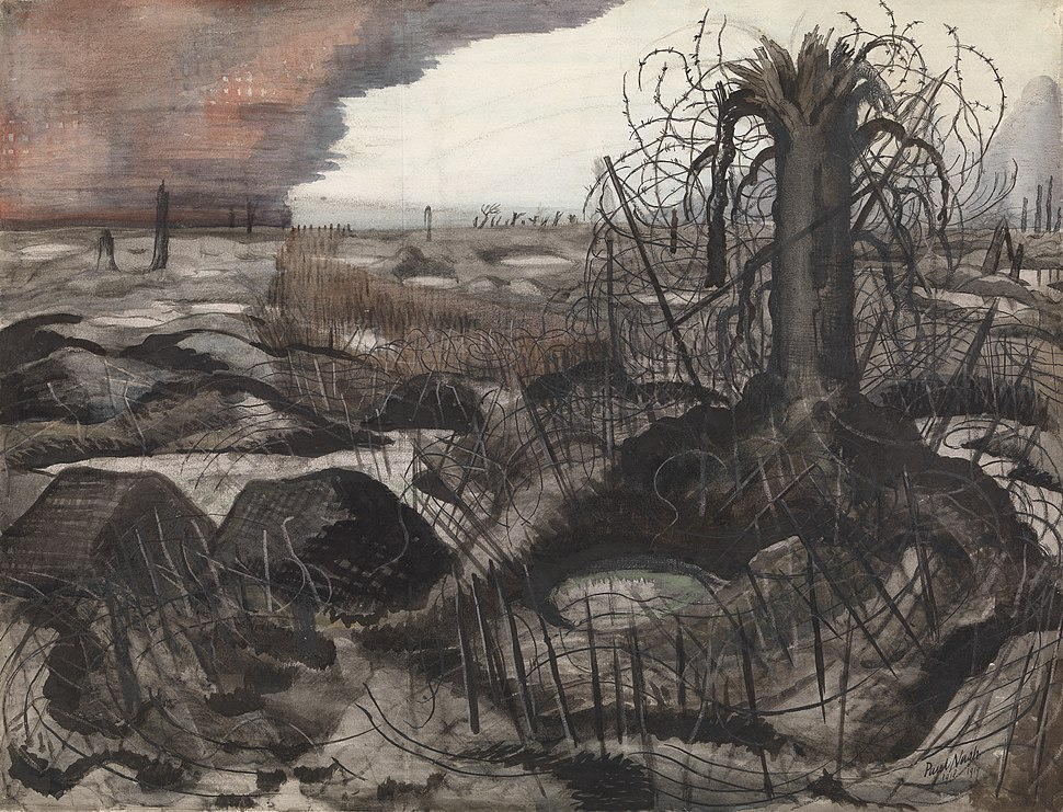 Paul Nash Wire 1918-19