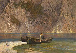 Paul Schreckhaase - Das Boot, Gardasee.jpg