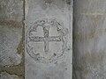 Paussac église croix consécration.JPG