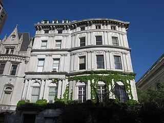 Payne Whitney House Building in Manhattan, New York
