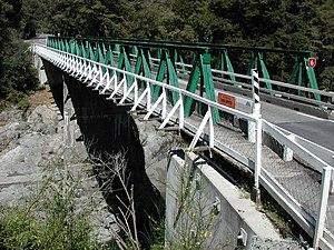 Pelorus Bridge - Image: Pelorus Bridge SH6