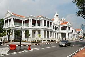 Light Street, George Town - The Palladian-style Penang High Court