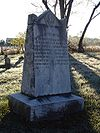 Unknown Confederate Dead Monument in Perryville