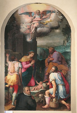 Peter Candid - Image: Peter Candid Adoration of the Shepherds