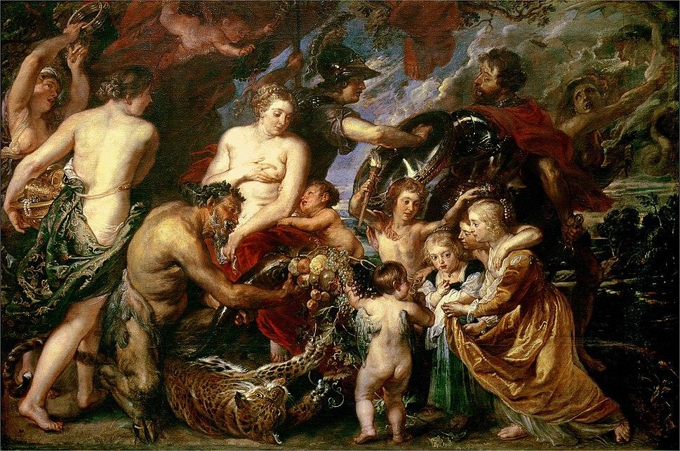 Peter Paul Rubens (1577-1640) Peace and War (1629)