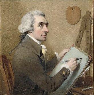 William Pether - Self-portrait.