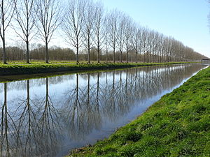 Port-le-Grand - The Somme Canal at Petit-Port