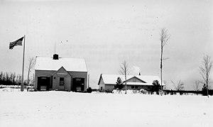 Blackduck, Minnesota - Ranger Station and Warehouse at Blackduck, 1940