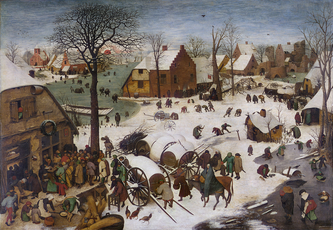 Pieter Bruegel der Ältere - Volkszählung zu Bethlehem.jpg