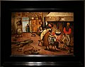 Pieter bruegel il giovane, contadini che si scaldano al focolare 2.jpg