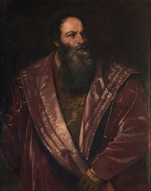 Pietro Aretino, por Tiziano