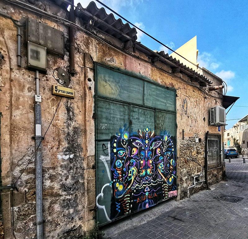 מבנה ישן באזור שדרות ירושלים
