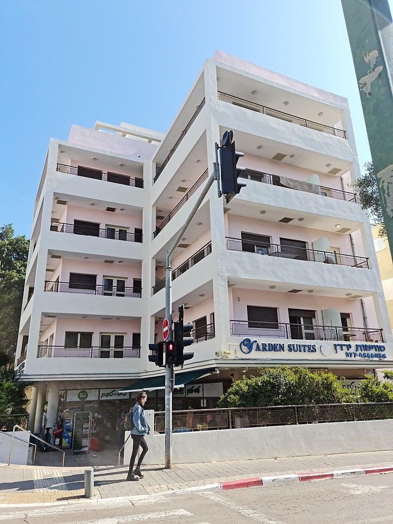 מלון ירדן רחוב בן-יהודה 130, פינת בן