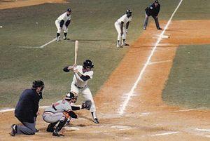 Lou Piniella - Piniella at-bat in a 1983 spring training game