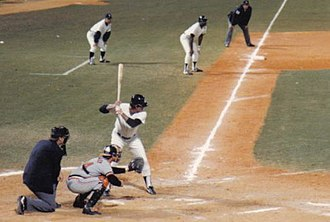 Lou Piniella - Piniella at-bat in a 1983 spring training game
