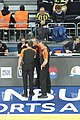 Piotr Pastusiak, Robert Lottermoser & Sreten Radovic Fenerbahçe men's basketball vs Real Madrid Baloncesto Euroleague 20161201 (2).jpg