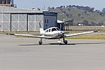 Piper PA-28-181 Archer III (VH-NRP) taxiing at Wagga Wagga Airport.jpg