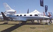 Piper PA-47 Piper Jet N360PJ Lakeland FL 23.04.09R.jpg