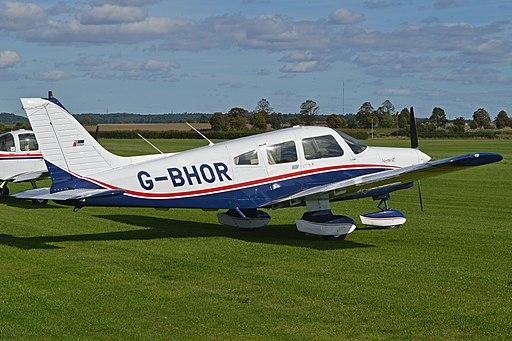 Piper PA28-161 Warrior II 'G-BHOR' (12306877403)