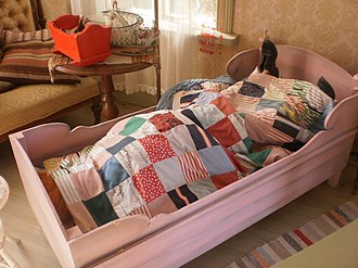 Villa Villekulla - Image: Pippi sleeping