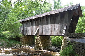 Pisgah Covered Bridge - Image: Pisgah Covered Bridge