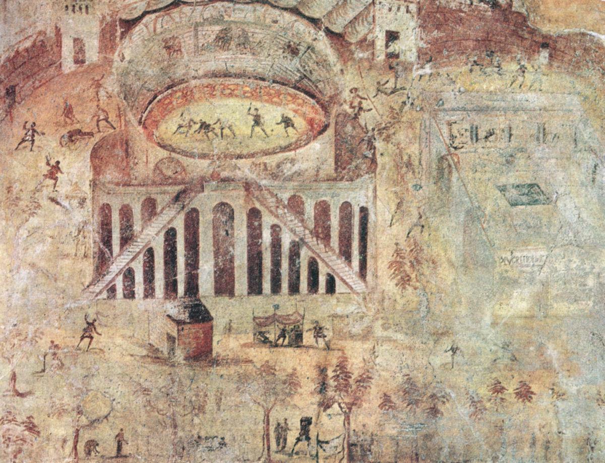 Zuffa tra pompeiani e nocerini wikipedia - Giochi di decorazione della casa ...