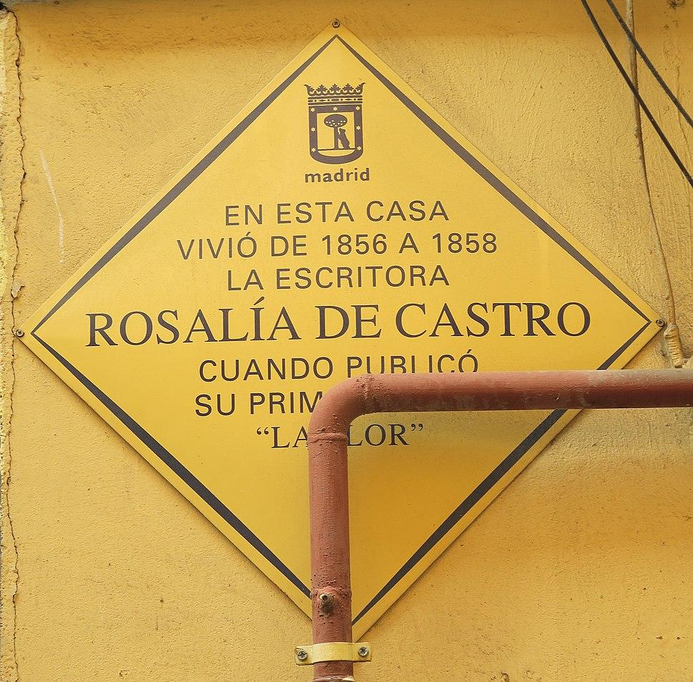Placa do concello.