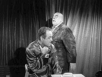 Plan 9 from Outer Space - Eros, after nearly being strangled to death by the corpse of Inspector Clay.