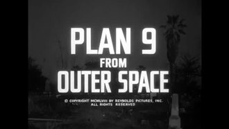 ファイル:Plan 9 from Outer Space (1959).webm
