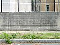 Plaque in parking lot - Boston Latin School - DSC09912.JPG