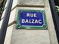 Plaque rue Balzac.jpg