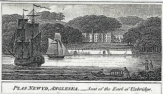 Plas Newyd, Anglesey: seat of the Earl of Uxbridge