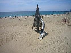 Platja de la Mar Bella (Barcelona) 01.JPG