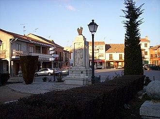 Aguilafuente - Image: Plaza de Aguilafuente