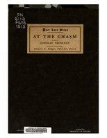 Poet Lore, At the Chasm, volume 24, 1913.pdf