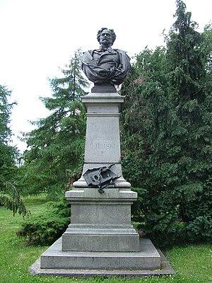 Kornel Ujejski - Kornel Ujejski - monument in Szczecin, Poland moved form Lviv in 1946