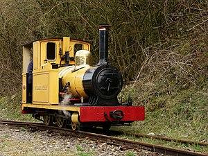 Amberley Museum Railway - Image: Polar Bear at Amberley Museum Railway