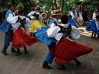 Red Ruthenia - Pogórzanie folk costumes.