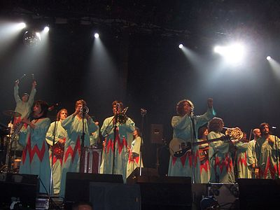 Picture of a band or musician: The Polyphonic Spree