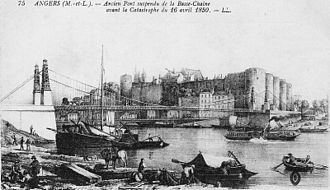 Angers Bridge - Image: Pont 1839