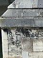 Pont Royal - repère de la crue de 1740.jpg