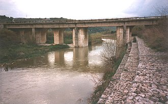 Anapo - The Diddino Bridge.