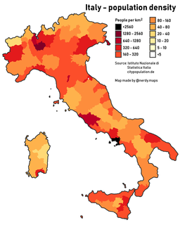 Demographics of Italy