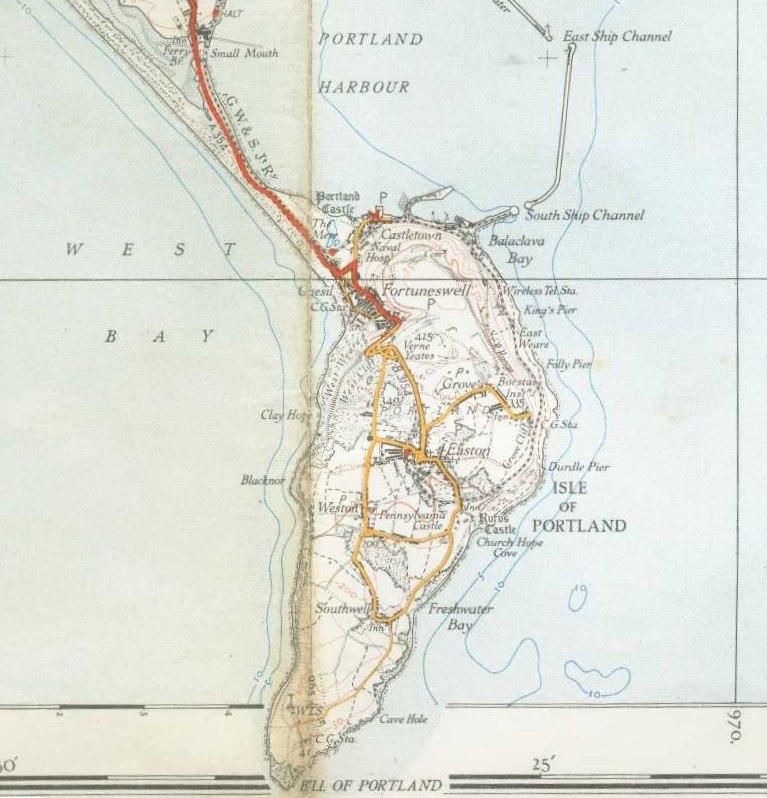 Porland island map1937