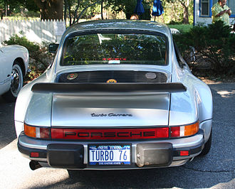 "Porsche 930 - Early US-spec 930 - with ""Turbo Carrera"" badging"